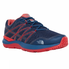 The North Face The North Face Mens Ultra Cardiac II Shoe Shady Blue/High Risk Red