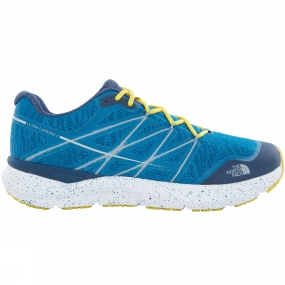 The North Face The North Face Mens Ultra Cardiac II Shoe Seaport Blue/Acid Yellow