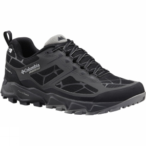 Columbia Are you looking to beat your personal best time and searching for more velocity? The Columbia Trans Alps II Outdry Shoe is trimmed down, lightweight, fast, and still offers support and traction for a smooth ride on rugged mountain terrain. The seamless upper has a waterproof and breathable OutDry construction, and there