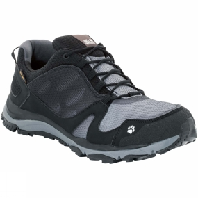 Jack Wolfskin Jack Wolfskin Mens Storm Breeze Texapore Low Shoe Black