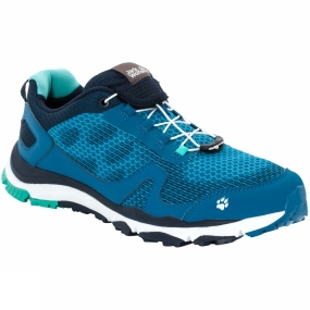 Jack Wolfskin Jack Wolfskin Mens Storm Breeze Low Shoe Glacier Blue