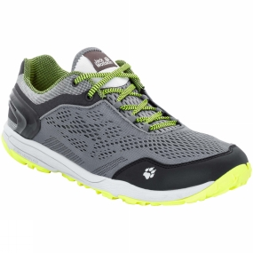 Jack Wolfskin Jack Wolfskin Mens Crosstrail Chill Low Shoe Neon Yellow