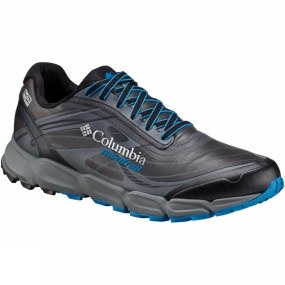 Columbia When waterproofing, comfortable support and traction are paramount for your long distance trail running activities, the Mens Caldorado III OutDry Ex Shoe from Columbia is your next essential. It features the OutDry Extreme exterior membrane for unmatched breathable waterproofing and a seamless abrasion resistant upper, a soft forefoot flex zone, a cushioned collar, and reinforced toe cap. The FluidFoam midsole provides exceptional cushioning, while Fluidguide adds midfoot stability. The outsole has multi-directional lug patterns for better traction in most situations, while the trailshield plate protects your feet from uneven ground.