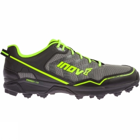 Inov-8 The Mens Arctic Claw 300 Shoe from Inov-8 performs on the most severe of off-road terrain, excelling on ice and frozen ground. An optimum number of tungsten carbide spikes on the outsole ensures unrivalled grip, no matter how the foot strikes the ground. Run debris-free with integrated gaiter options (gaiter sold separately). Designed for longer training runs over hazardous terrain, the durable Arctic Claw delivers superb comfort through a Power-Flow midsole. A Protec shank aligned with the spikes ensures underfoot Protection, while multi-directional cleats further increase grip.