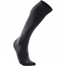 2XU 2XU Mens 24/7 Compression Socks Black/Black