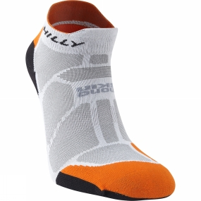 Hilly Hilly Marathon Fresh Socklet Grey / Orange / Black