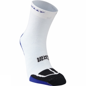 Hilly Hilly Twin Skin Classic Sock White / Electric Blue / Black