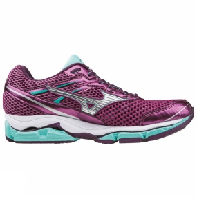 Mizuno Mizuno Womens Wave Enigma 5 Shoe Purple/Silver