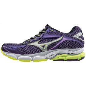 Mizuno Mizuno Womens Wave Ultima 7 Shoe Parachute Purple / Silver