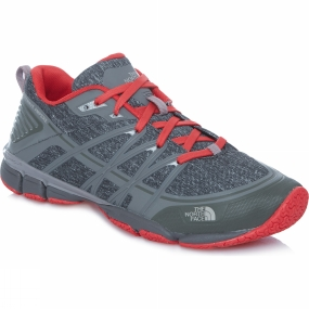 The North Face The North Face Women's Litewave Ampere Zinc Grey Heather Print / Melon Red