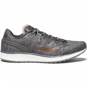 Running Shoes Saucony Womens Freedom ISO Grey/Denim/Copper