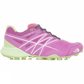 The North Face Womens Ultra MT Shoe Bright Purple/Lt Green