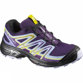 Salomon Salomon Womens Wings Flyte Shoe Cosmic Purple / Pale Lilac