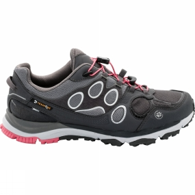 Jack Wolfskin Jack Wolfskin Womens Trail Excite Texapore Low Shoe Rosebud