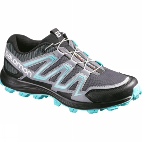 Salomon Salomon Women's Speedtrak Dark Cloud/Light Onix/Bubble Blue