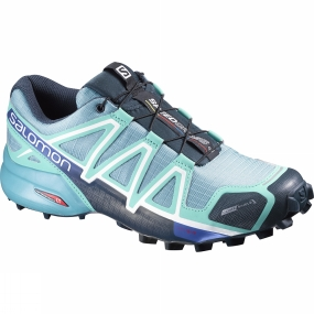 Salomon Salomon Women's Speedcross 4 CS Blue Gum / Bubble Blue