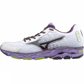 Mizuno Mizuno Womens Wave Inspire 11 Shoe White          /Purple