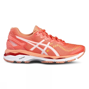 Running Shoes Asics Womens Gel Kayano 23 DIVA PINK/WHITE/CORAL PINK
