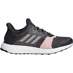 Image of Adidas Womens Ultraboost ST carbon/ftwr white/grey six