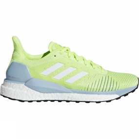 Image of Adidas Womens Solar Glide ST hi-res yellow/ftwr white/ASH GREY S18