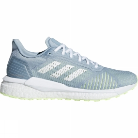 Image of Adidas Womens Solar Drive St ASH GREY S18/ftwr white/hi-res yellow