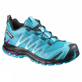 Sports Shoes Salomon Women's XA Pro 3D Blue Jay/Black/Deep Dalhia