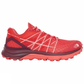 The North Face The North Face Womens Ultra Vertical Shoe Cayenne Red/Tropical Peach