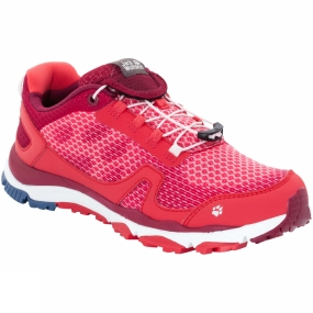 Jack Wolfskin Jack Wolfskin Womens Storm Breeze Low Shoe Tulip Red