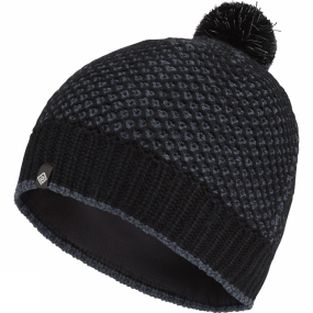 Ronhill Ronhill Thermal Bobble Hat Black/Charcoal