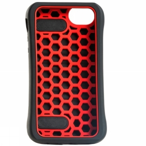 Runners Need Yurbuds Handcase IPhone 5 Black          /Red