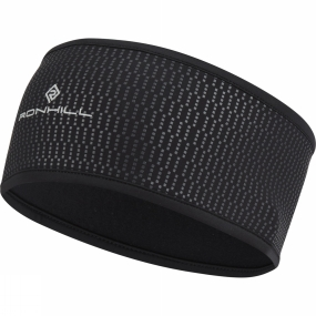 Ronhill Wind-Block Headband All Black