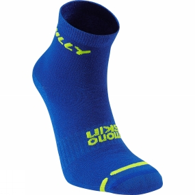 Hilly Lite Anklet Cobalt/Fluo Yellow