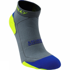 Hilly Lite Cushion Quarter Grey / Cobalt / Fluo Yellow