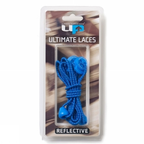 Ultimate Performance Reflective Elastic Laces Royal