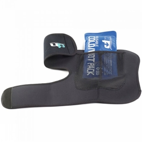 Ultimate Performance Medium Cold/Hot Pack (Ankle) Black
