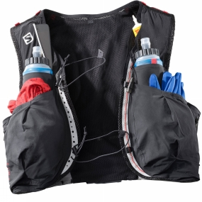 Salomon Salomon S-Lab Sense Ultra 8 Set BLACK/RACING RED