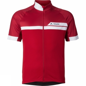 Vaude Vaude Mens Pro Tricot II Cycle Jersey Indian Red