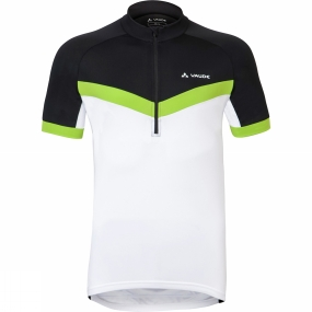 Vaude Vaude Mens Advanced Tricot II Cycle Jersey White