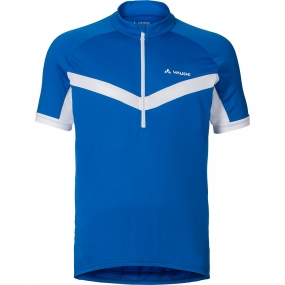 Vaude Vaude Mens Advanced Tricot II Cycle Jersey Hydro Blue