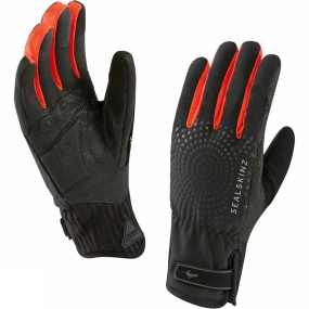 SealSkinz SealSkinz Womens All Weather XP Cycle Glove Black / Red