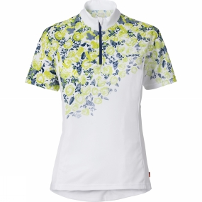 Vaude Vaude Womens Loveline Tricot Cycle Jersey White