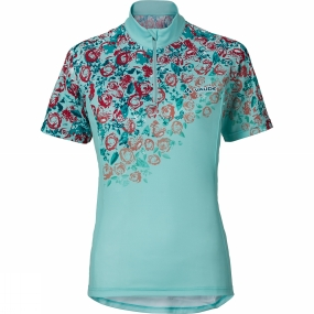 Vaude Vaude Womens Loveline Tricot Cycle Jersey Icewater
