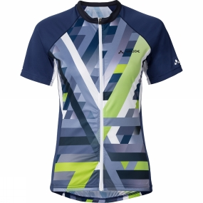 Vaude Vaude Womens Puntello Tricot Cycle Jersey Sailor Blue