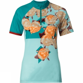 Vaude Vaude Womens Tomaly Tricot Cycle Jersey Reef