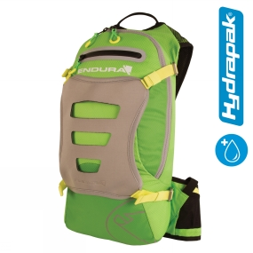 Endura SingleTrack Backpack with Hydrapak Kelly Green