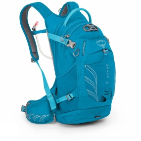 Osprey Womens Raven 14 Hydration Pack Tempo Teal