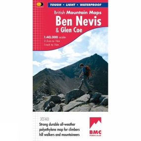 Harvey Maps Ben Nevis & Glen Coe British Mountain Map 1:40K