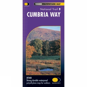 Harvey Maps Cumbria Way Map 1:40K