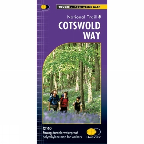 Harvey Maps Cotswold Way Map 1:40K
