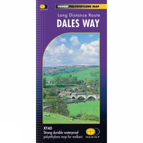 Harvey Maps Dales Way Map 1:40K